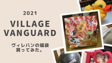 2021年もヴィレッジヴァンガードの福袋を買ってみた【今年は、わりと当たり】